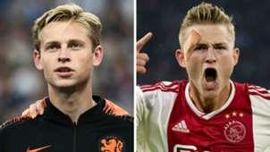 Frenkie De Jong Matthijs De Ligt Ajax GFX