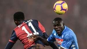 Kalidou Koulibaly Kouamè Genoa Napoli Serie A