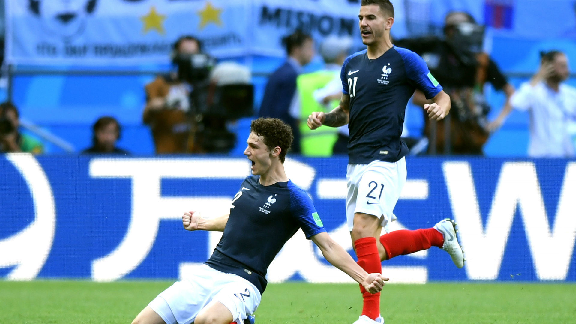 Image result for ชมปาวาร์ซัดงามหยดเกมฝรั่งเศสเชือดอาร์เจนตินา 4-3