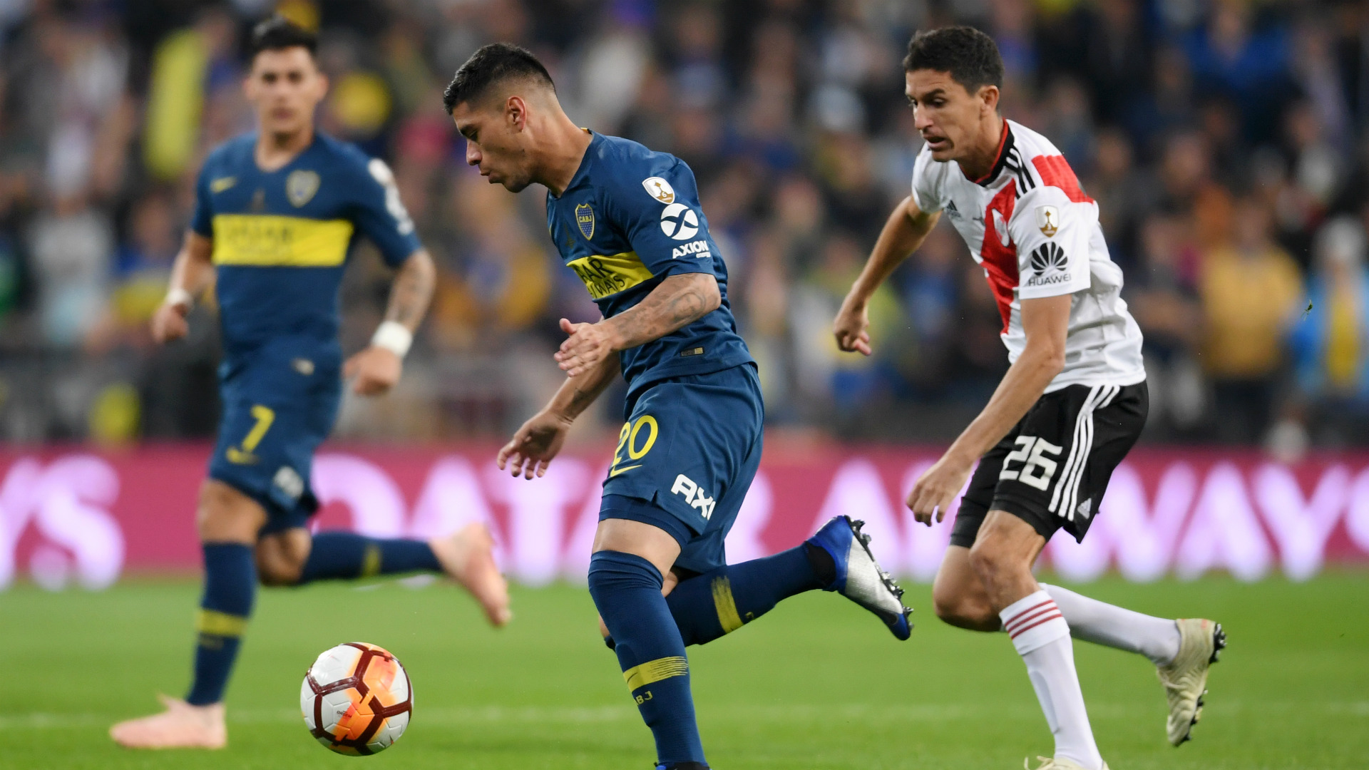 Olaza Fernandez River Boca Final Copa Libertadores 9122018