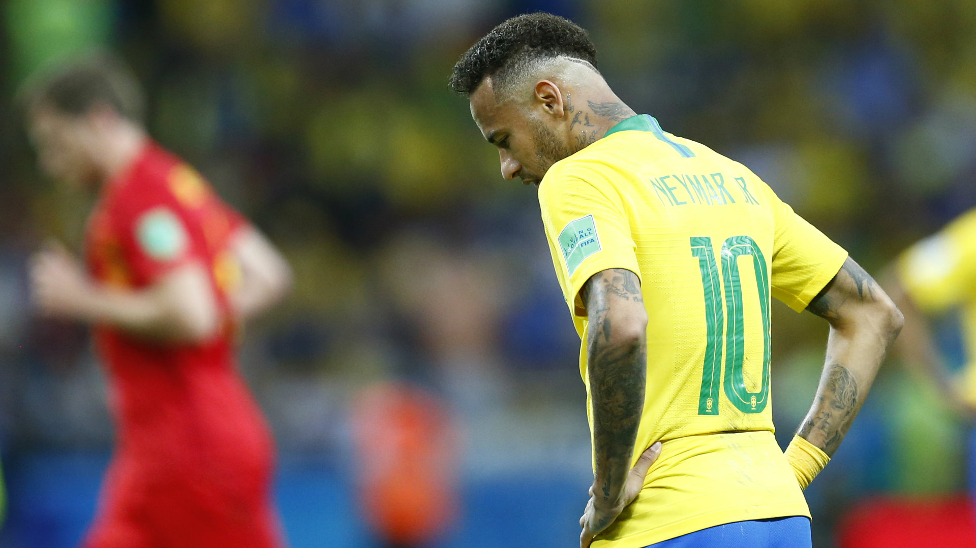 Neymar Selección brasileña 060718