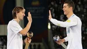 Luka Modric Cristiano Ronaldo Real Madrid 2018