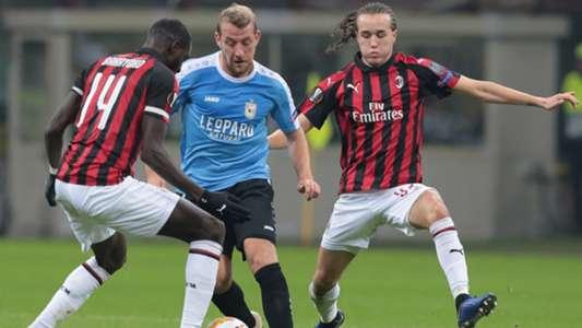 Milan Düdelingen Europa League