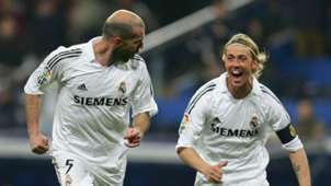 Zinedine Zidane Guti Real Madrid