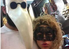 Pique Shakira máscaras
