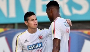 James Rodríguez & Yerry Mina Colombia