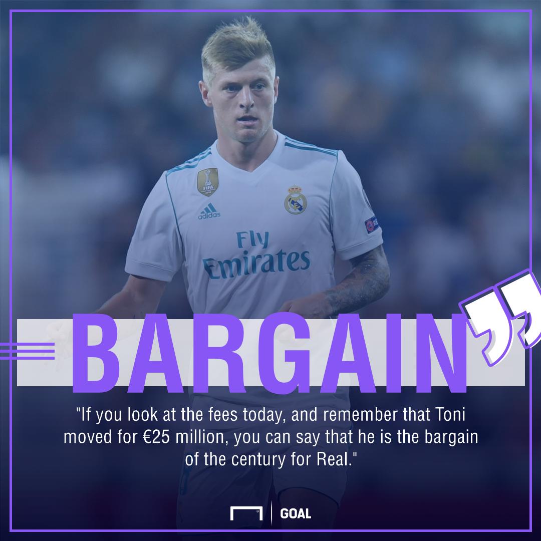 Toni Kroos Real Madrid bargain