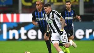 De Paul Joao Mario Inter Udinese Serie A