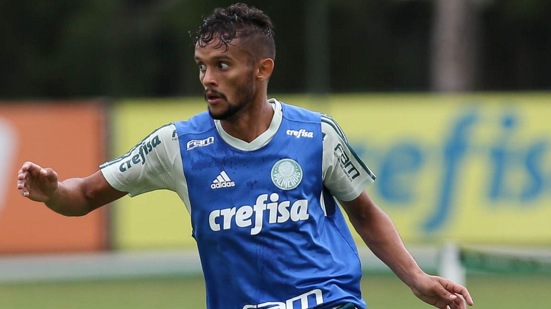 Gustavo Scarpa treino Palmeiras 26012018