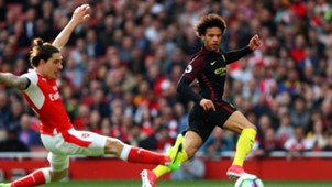 Leroy Sane Manchester City Arsenal Premier League