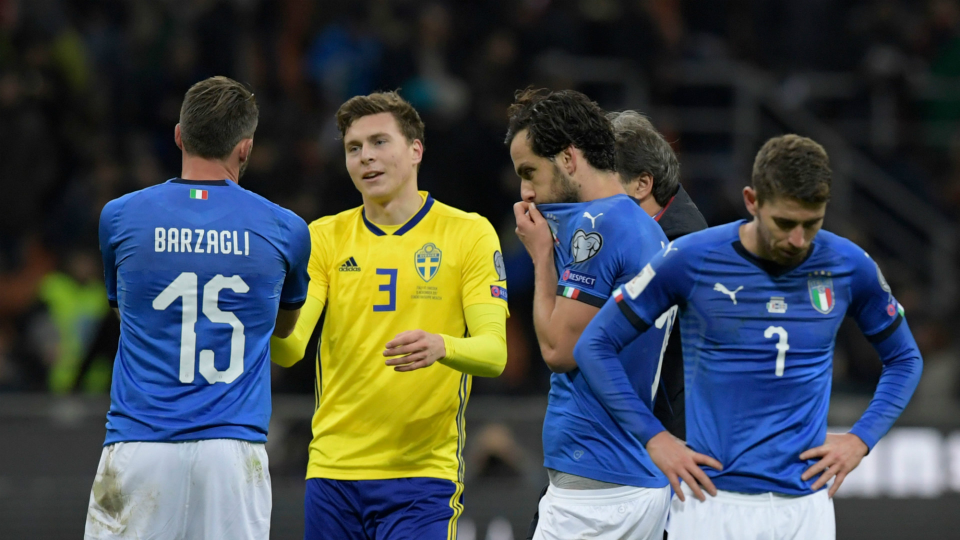 Italy Sweden World Cup Qualifiier Playoff