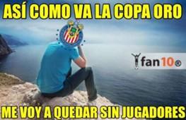Memes Copa Oro