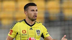 Kosta Barbarouses Wellington Phoenix v Melbourne City A-League 18022017
