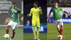 Jugadores de México último Mundial