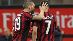 Bonucci Kalinic Milan Torino Serie A