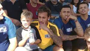 Neymar e Gabriel Jesus - Neymar Jr's Five - 8/07/2017