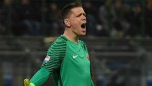 Wojciech Szczesny Inter Roma Serie A 26022017