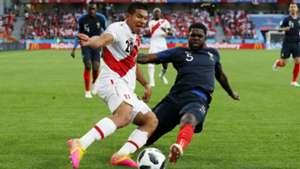 Samuel Umtiti Edison Flores France Peru World Cup 2018 21062018