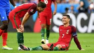 Ronaldo Moth Euro 2016 final tears