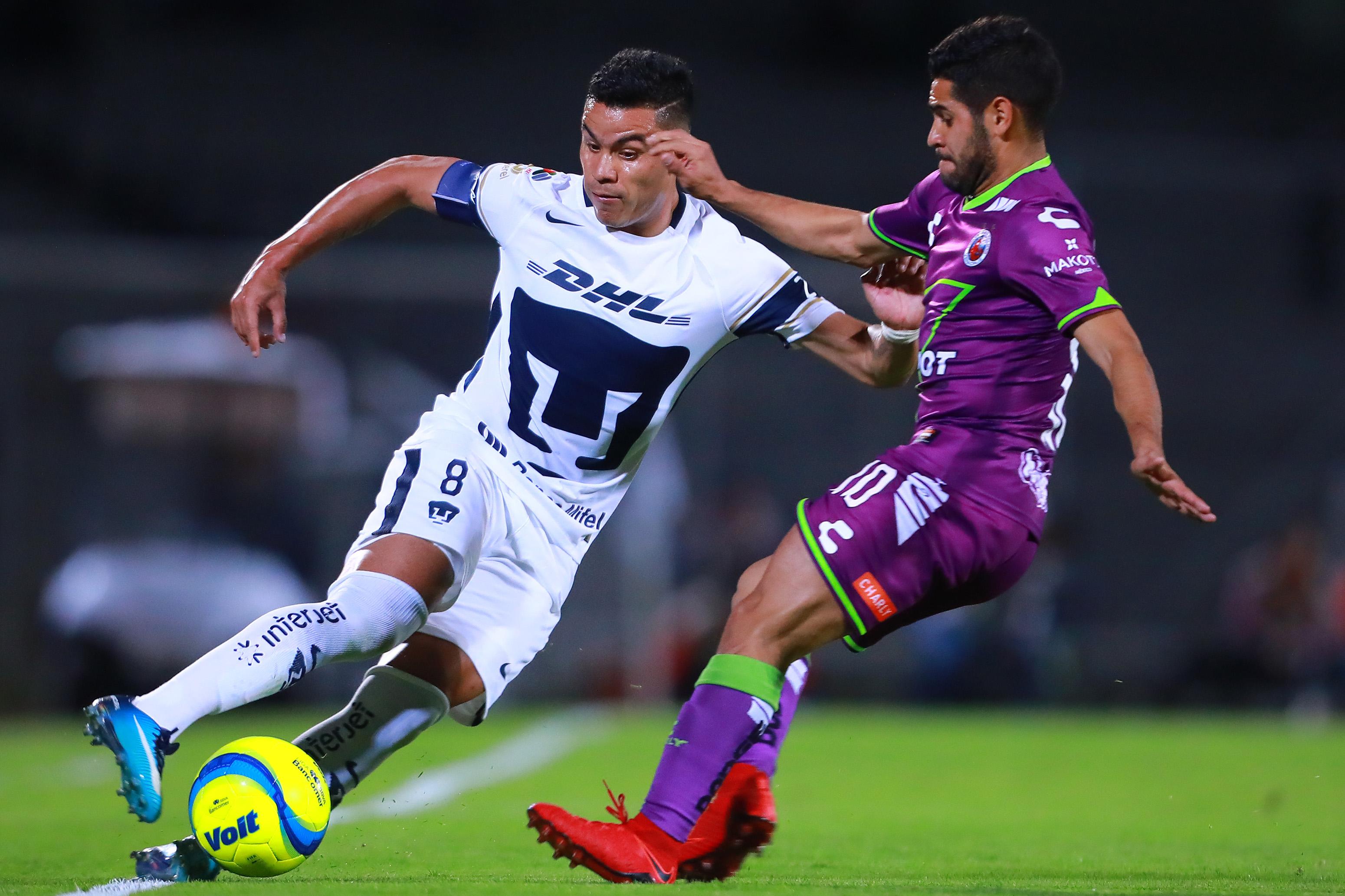 Pumas vs Veracruz Liga MX 2018