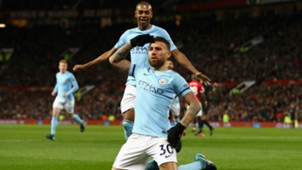 Nicolas Otamendi Manchester City Manchester United