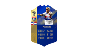 FIFA 18 Ligue 1 Team of the Season Mariano