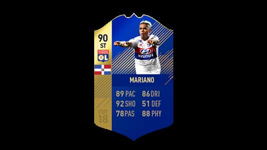 FIFA 18 Ligue 1 Team of the Season Mariano