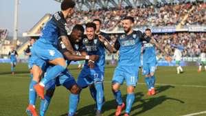 celebration goal empoli sassuolo