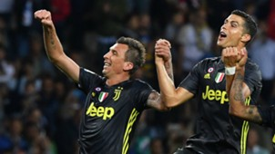 Mario Mandzukic Cristiano Ronaldo Juventus