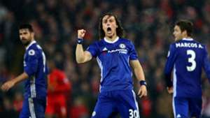 HD David Luiz celebrates goal v Liverpool