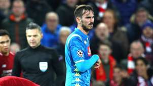 Fabian Ruiz Liverpool Napoli Champions League