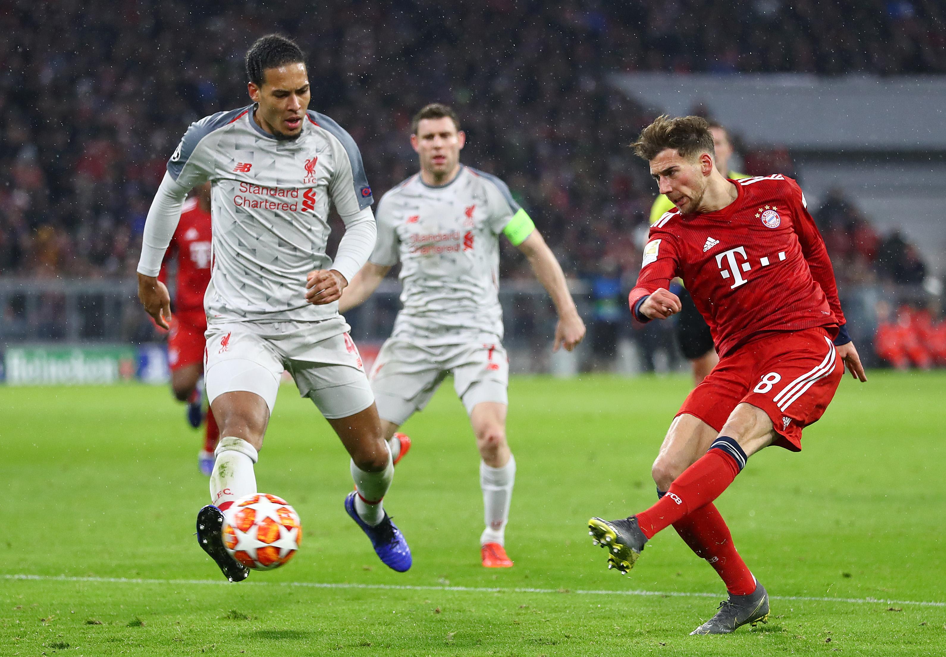 Leon Goretzka Bayern München Liverpool