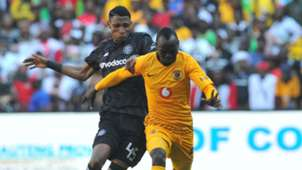 Vincent Pule, Orlando Pirates & Geoffrey Walusimbi, Kaizer Chiefs, October 2018