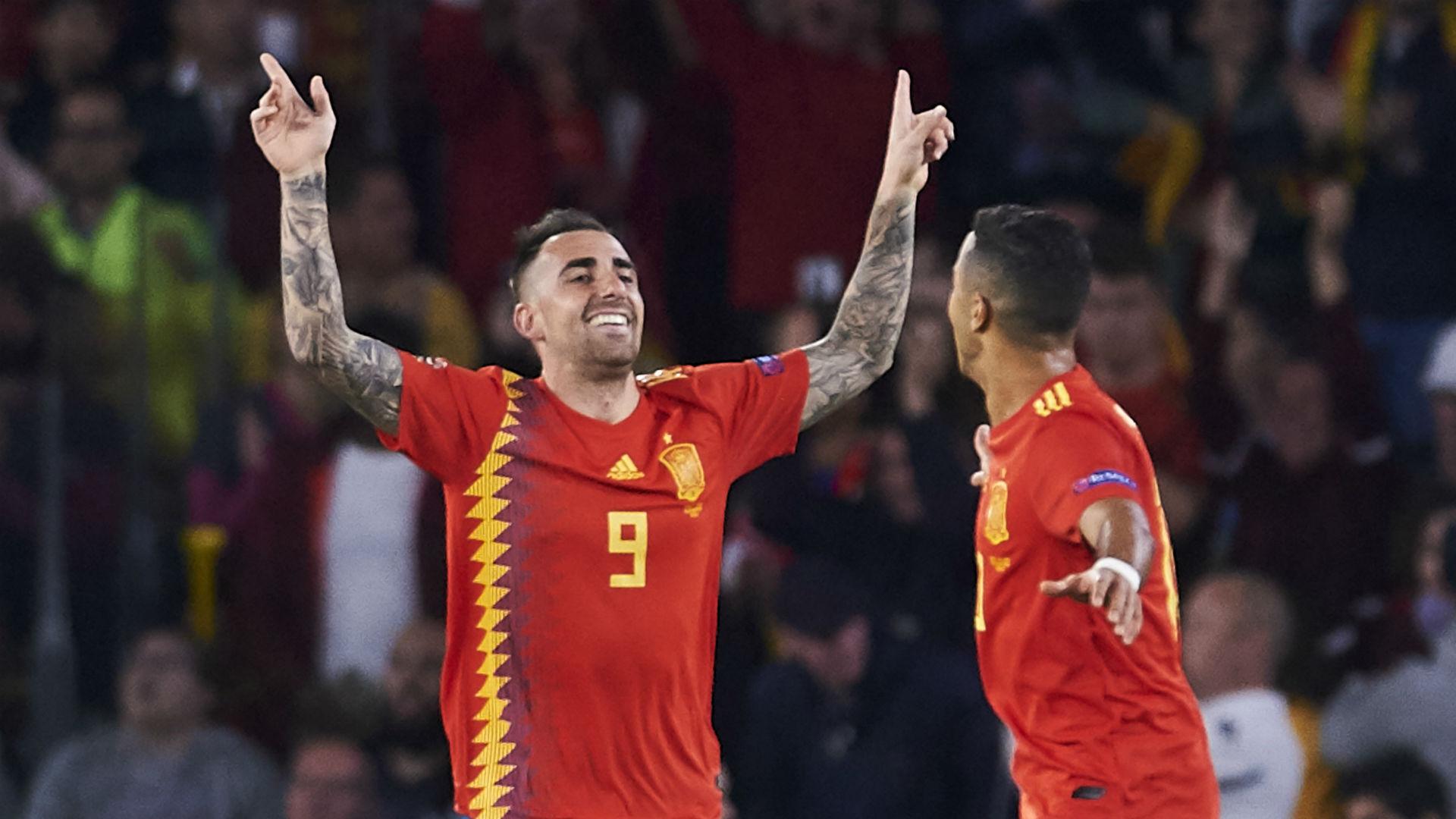 Alcacer Espanha Inglaterra Nations League 15 10 2018