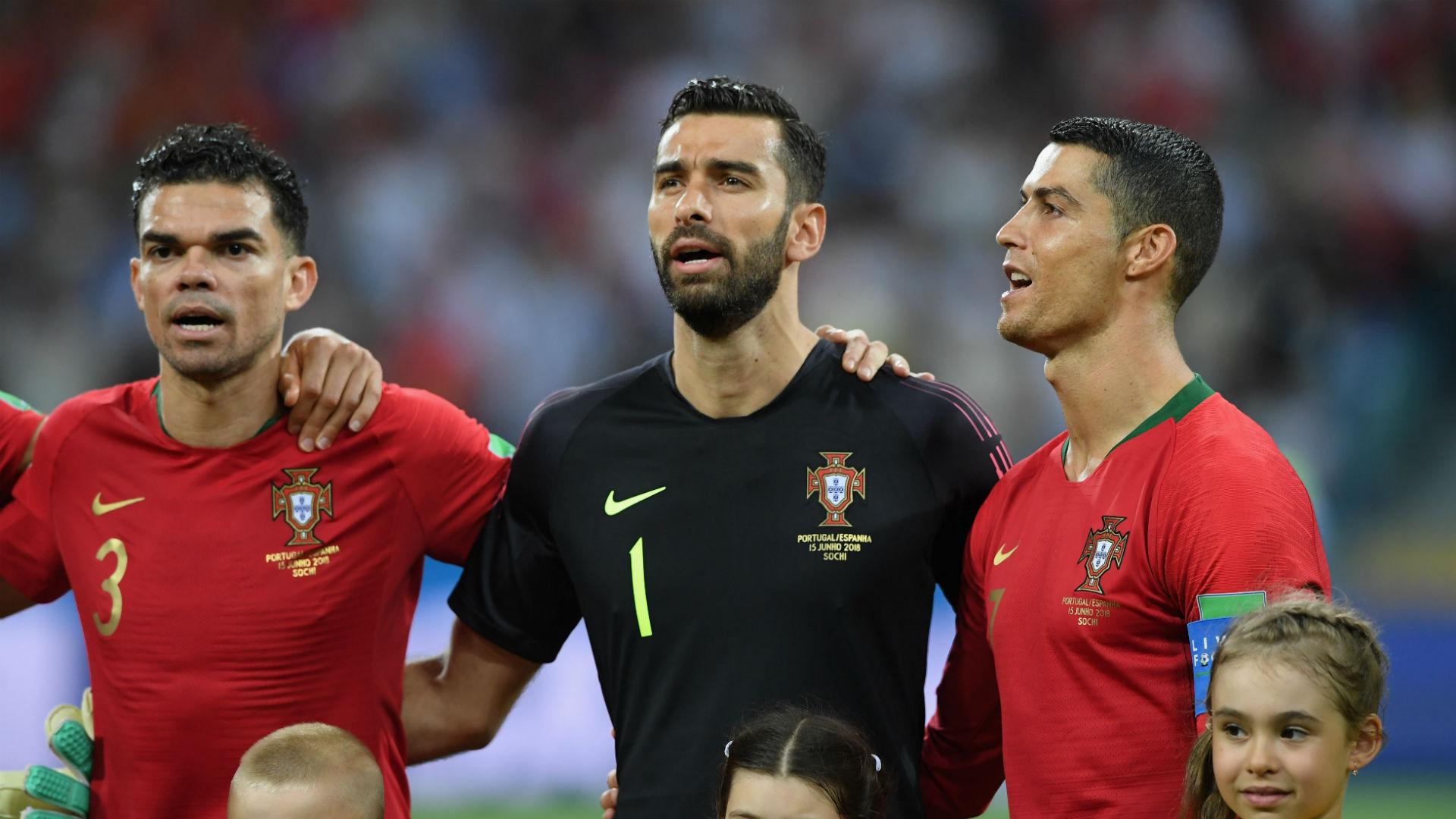 Rui Patricio Pepe Cristiano Ronaldo Portugal