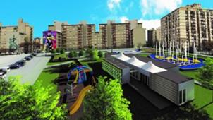 Proyecto Social Boca Terrenos Casa Amarilla