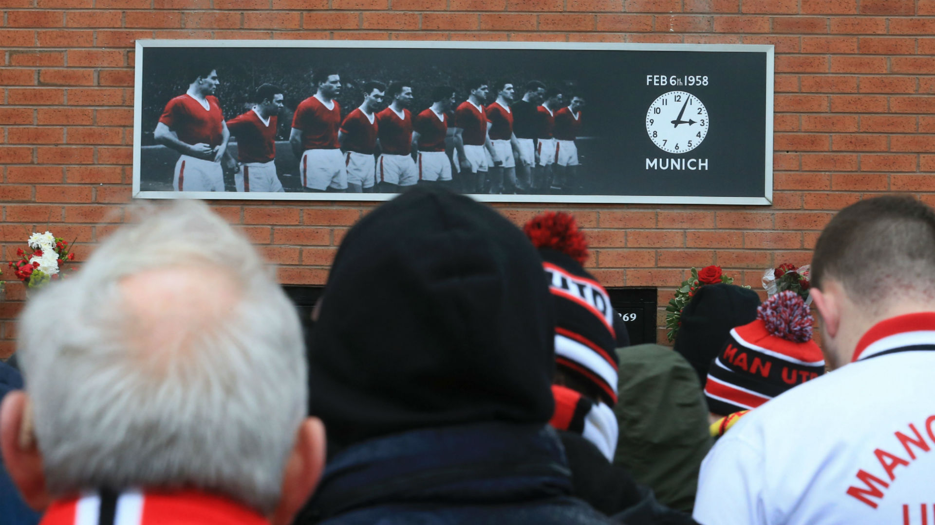 Munich air disaster memorial
