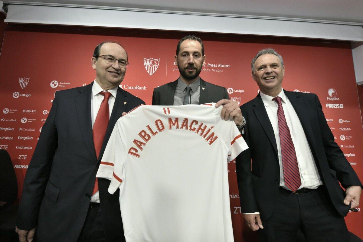 Pablo Machin Joaquin Caparros Jose Castro Sevilla