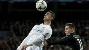 Cristiano Ronaldo Giovanni Lo Celso PSG Real Madrid UEFA Champions League 14022018