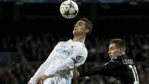 Cristiano Ronaldo Giovanni Lo Celso PSG Real Madrid UEFA Champions League 14022018
