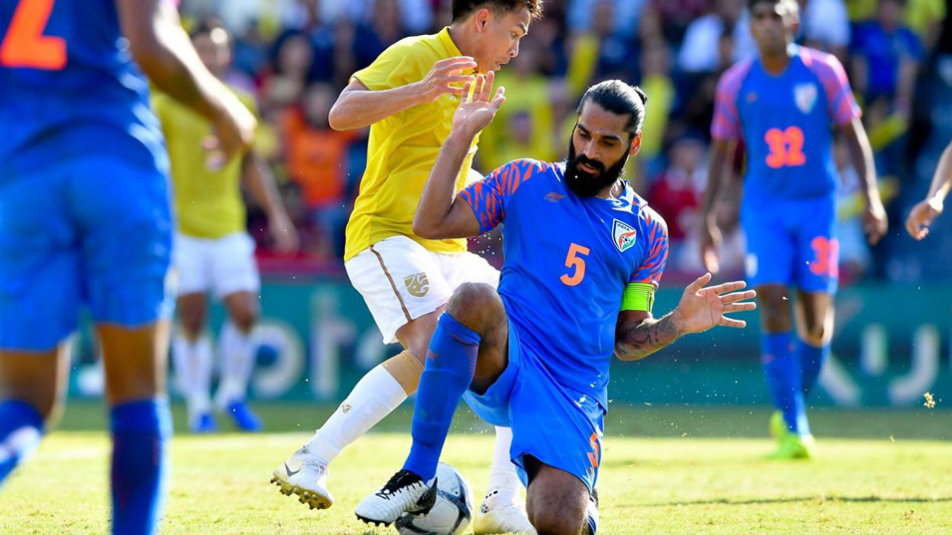 Sandesh Jhingan India Thailand King's Cup 2019