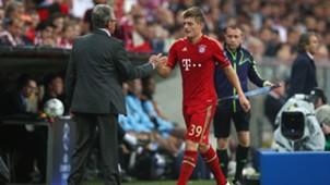Toni Kroos Jupp Heynckes Bayern München 24102017