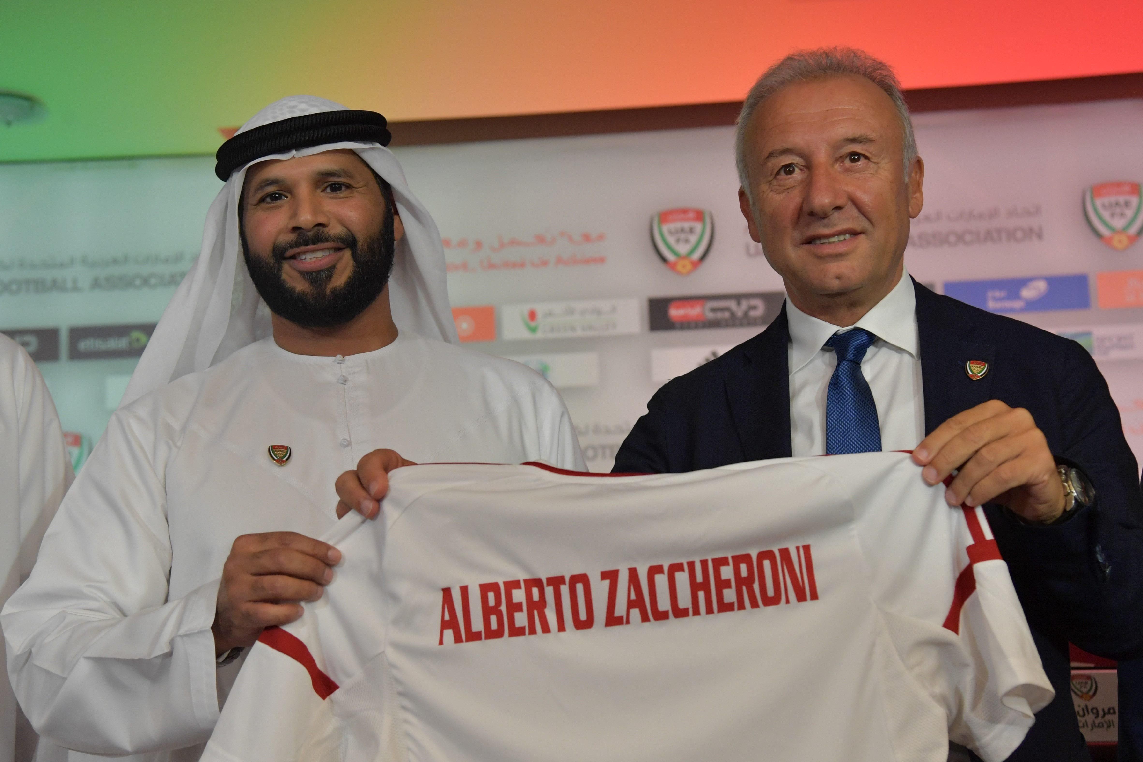 Alberto Zaccheroni UAE coach