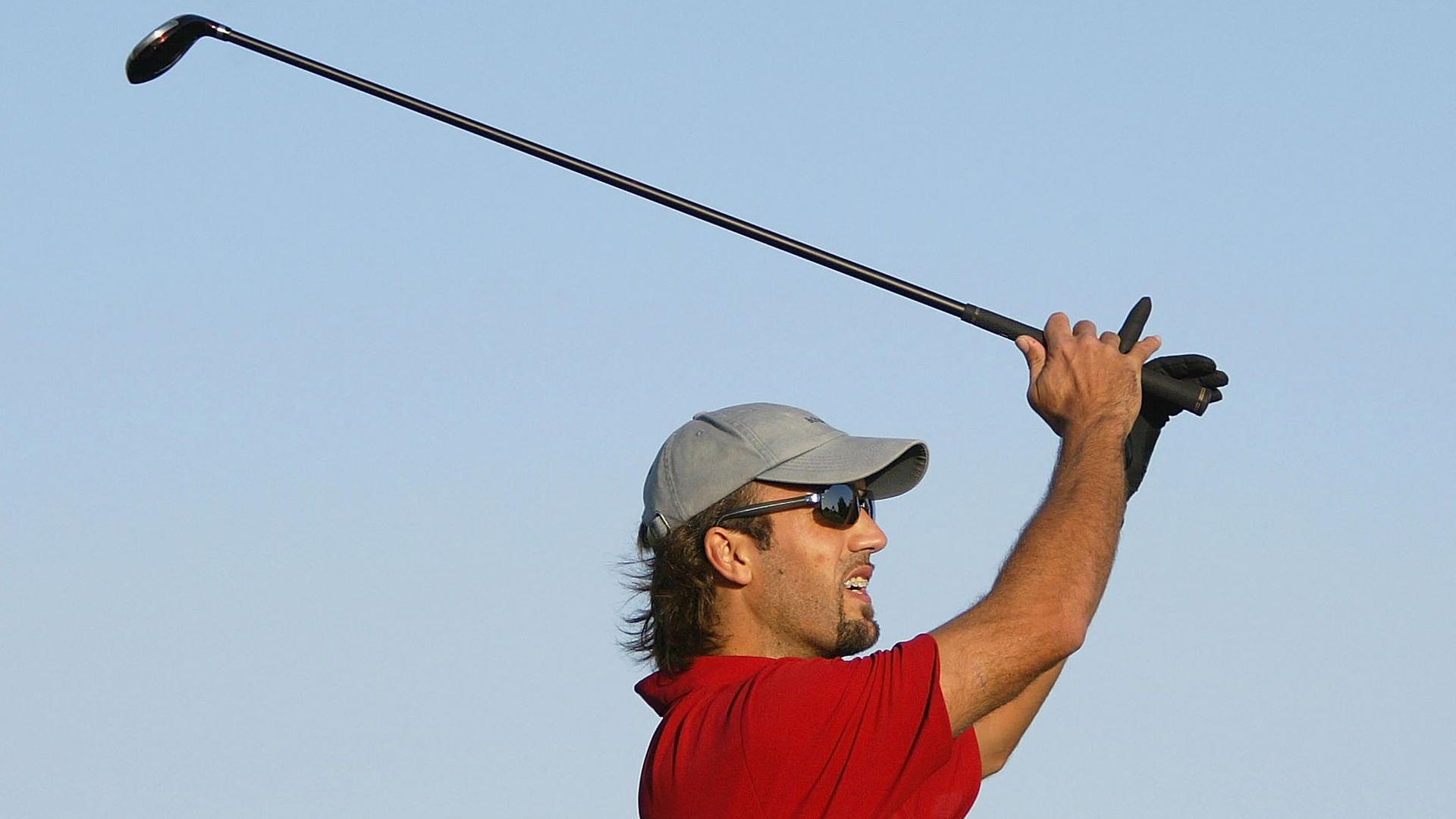 Gabriel Batistuta golf