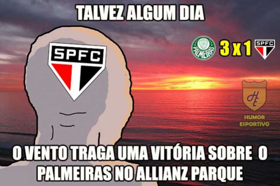 São Paulo x Palmeiras meme