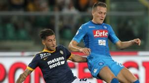 Zielinski Zaccagni Verona Napoli Serie A