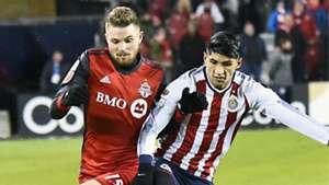 Alan Pulido Eriq Zavaleta Chivas Toronto FC CONCACAF Champions League