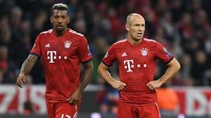 Jerome Boateng Arjen Robben Bayern Munich FC Ajax UEFA Champions League 02102018