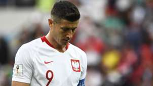 Robert Lewandowski Poland Senegal World Cup 2018