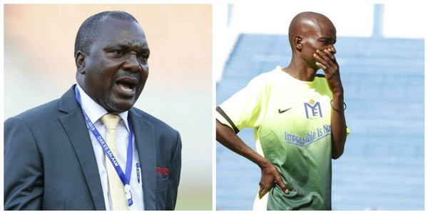 Sofapaka head coach Sam Ssimbwa and Muhoroni Youth head coach James Omondi collage